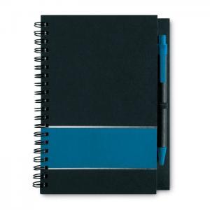 Notes w linie z długopisem