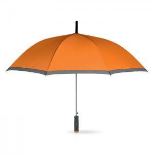 Parasol z rączką EVA pomarańczowy