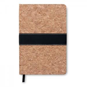 Notatnik A5 z okładką korkową