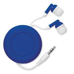 Słuchawki zwijane niebieski