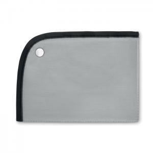 Składana mata do siedzenia srebrny mat