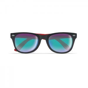 Okulary przeciwsłoneczne czerwony