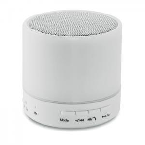 Okrągły głośnik bluetooth LED