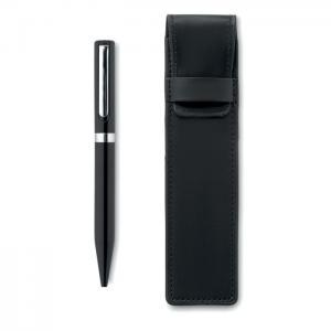 Metalowy długopis z etui