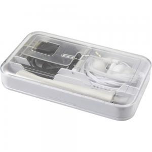 Touch pen, ściereczka, kabel USB, słuchawki
