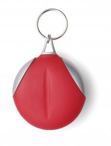 Brelok do kluczy ze ściereczką czerwony
