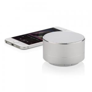 Głośnik bezprzewodowy BBM srebrny