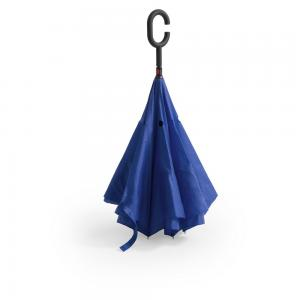 Odwracalny parasol niebieski