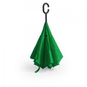 Odwracalny parasol zielony