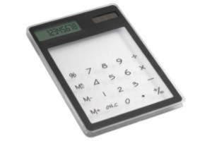 Kalkulator, bateria słoneczna czarny