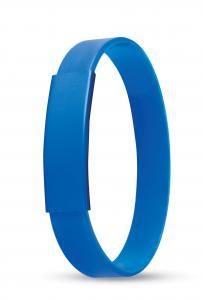 Silikonowa bransoletka niebieski