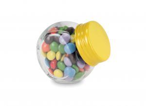 Miętówki w słoiczku żółty