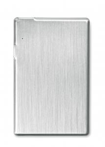 USB i Powerbank srebrny mat