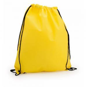 Worek ze sznurkiem żółty