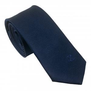 Jedwabny Krawat Element Navy