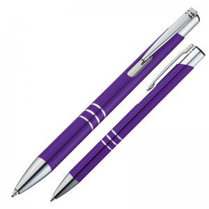 Długopis metalowy ASCOT fioletowy