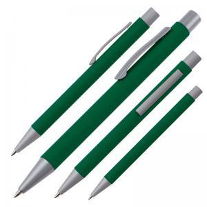 Długopis metalowy ABU DHABI zielony