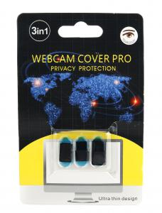 Zaślepka na kamerę - Webcam Cover 3pak