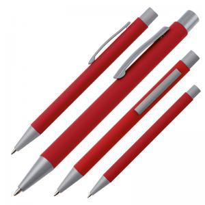 Długopis metalowy ABU DHABI czerwony