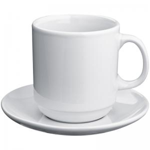 Filiżanka ceramiczna ze spodkiem MALCESINE