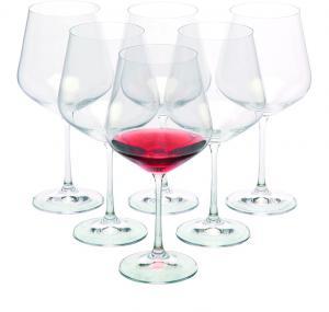Zestaw 6 kieliszków do czerwonego wina WANAKA 6, 570 ml