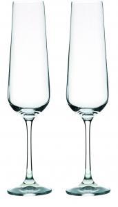 Zestaw 2 kieliszków do szampana WANGI, 200 ml