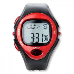Sportowy zegarek elektroniczny czerwony