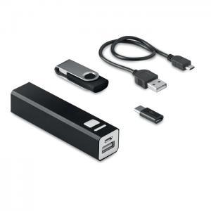 Zestaw USB 8GB i power bank