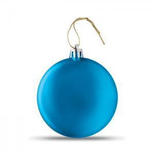 Bombka niebieski