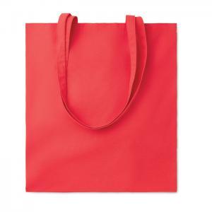 Bawełniana torba na zakupy czerwony