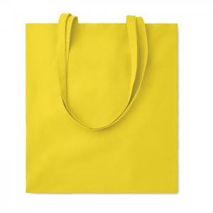 Bawełniana torba na zakupy żółty
