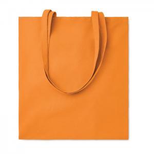 Bawełniana torba na zakupy pomarańczowy
