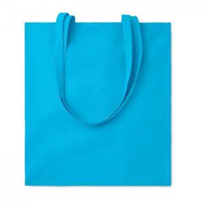 Bawełniana torba na zakupy turkusowy