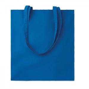 Bawełniana torba na zakupy niebieski