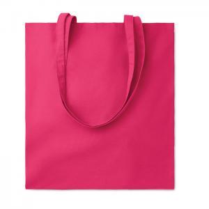Bawełniana torba na zakupy fuksja