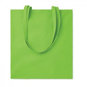 Bawełniana torba na zakupy limonka