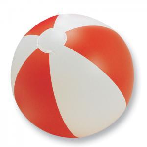 Nadmuchiwana piłka plażowa czerwony
