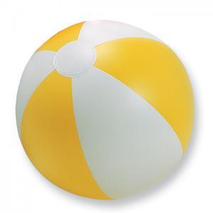 Nadmuchiwana piłka plażowa żółty