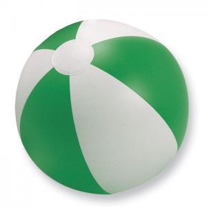 Nadmuchiwana piłka plażowa zielony