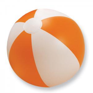 Nadmuchiwana piłka plażowa pomarańczowy