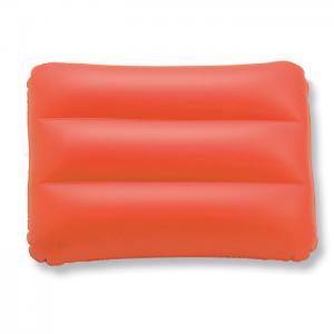 Prostokatna poduszka plazowa czerwony