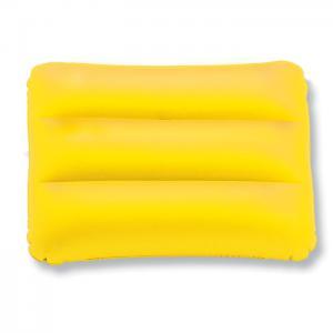 Prostokatna poduszka plazowa żółty