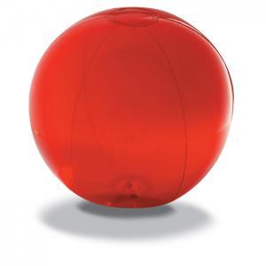 Piłka plażowa z PVC czerwony