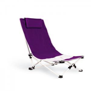 Capri. Krzesło plażowe fioletowy