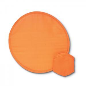Nylonowe, składane frisbee pomarańczowy