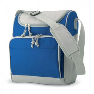 Torba izotermiczna z kieszenią niebieski