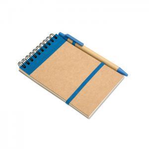 Notes z długopisem 70 kartek granatowy