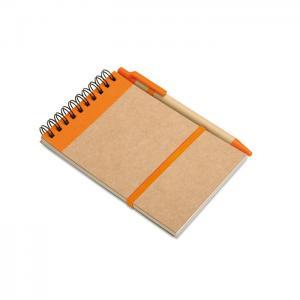 Notes z długopisem 70 kartek pomarańczowy