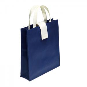Składana torba na zakupy granatowy