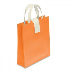 Składana torba na zakupy pomarańczowy